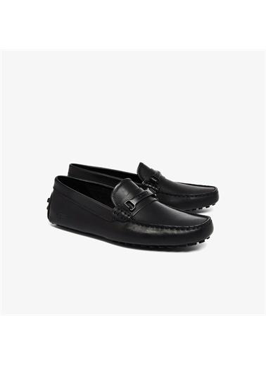 Lacoste Lacoste Anstead 0921 1 Cma Erkek Deri Siyah Ayakkabı Siyah